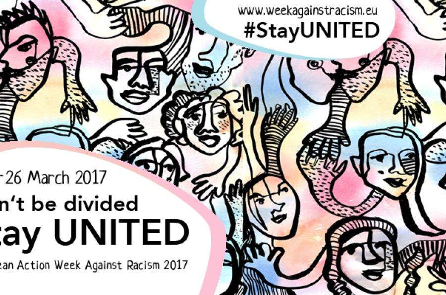 18-26 March - European Action Week Against Racism 2017