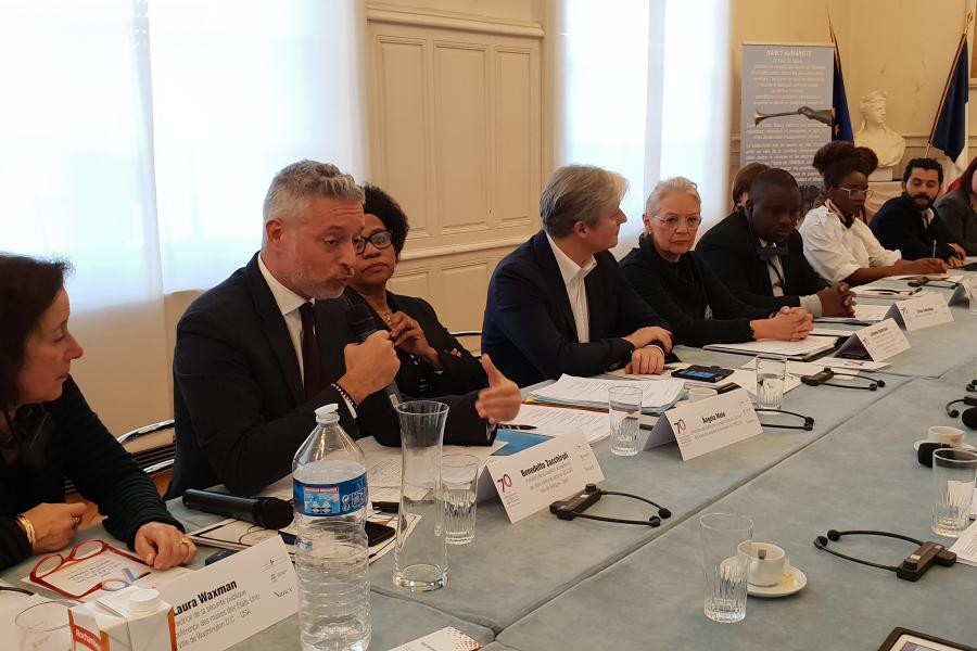 ICCAR Global Steering Committee, Declaration of Nancy (Press conference)